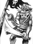 Goblin Buccaneer clip art image