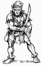 Hobgoblin robber clip art image