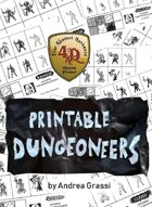 Printable Dungeoneers for Four Against Darkness
