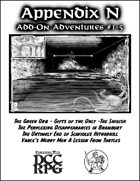 Appendix N Adventures Add-Ons #1-5