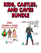 Kids, Castles, & Caves Deluxe Set [BUNDLE]