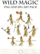 Wild Magic Art Pack
