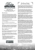 Duty & Honour Almanac #1