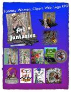 Fantasy Women Clipart Volume 12