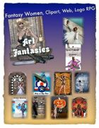 Fantasy Women Clipart Volume 13