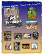 Fantasy Women Clipart Volume 15