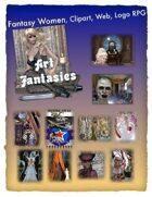 Fantasy Women Clipart Volume 16