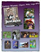 Fantasy Women Clipart Volume 17