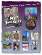 Fantasy Women Clipart Volume 18