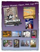 Fantasy Women Clipart Volume 19