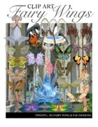 """Create your own Image"" Fairy Wings Clipart"
