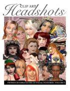 Headshots Clipart Volume 3