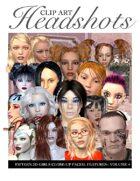 Headshots Clipart Volume 4