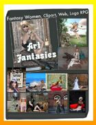 Fantasy Women Clipart Volume 20