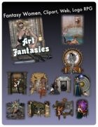 Fantasy Women Clipart Volume 3