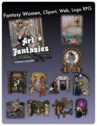 Fantasy Women Clipart Volume 3