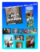 Fantasy Women Clipart Volume 7