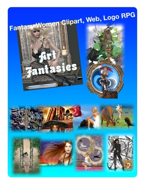 Fantasy Women Clipart Volume 8