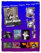 Fantasy Women Clipart Volume 10