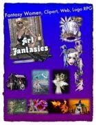 Fantasy Women Clipart Volume 10