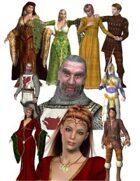 Character Clipart - Camelot Set *Bargain Bin 4