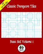Classic Dungeon Tiles: Base Set Volume 1