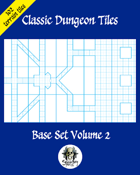 Classic Dungeon Tiles: Base Set Volume 2