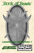 Book of Beasts: Legendary Monsters 1 (Legend/RuneQuest)