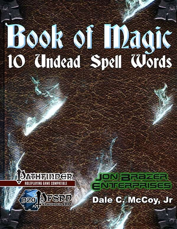 Book of Magic: 10 Undead Spell Words (Laptop/Tablet)