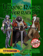 Book of Heroic Races: Player Races 1 (5e)