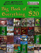 JBE'S Big Book of Everything [BUNDLE]