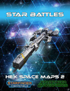 Star Battles: Hex Space Maps 2 (Starfinder RPG)