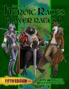 Book of Heroic Races: Player Races 1 (5e) (VTT/PDF) [BUNDLE]