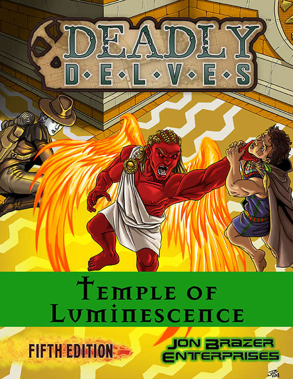 Deadly Delves: Temple of Luminescence (5e)