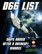 d66 Ships Named After a Breakup/Divorce