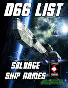 d66 Salvage Ship Names