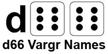 d66 Vargr Names
