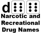 d66 Narcotic and Recreational Drug Names