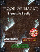 Book of Magic: Signature Spells 1 (PFRPG)