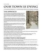 Our Town Is Dying