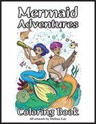 Mermaid Adventures Coloring Book