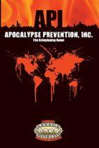 Apocalypse Prevention, Inc. - Savage Worlds Edition