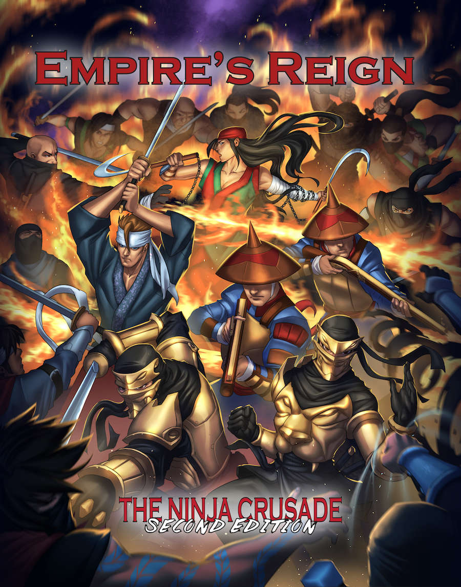 Empire's Reign (for The Ninja Crusade 2nd Edition)