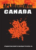 API Worldwide: Canada 1st Edition