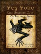 Fey Folio: The Unseelie Court