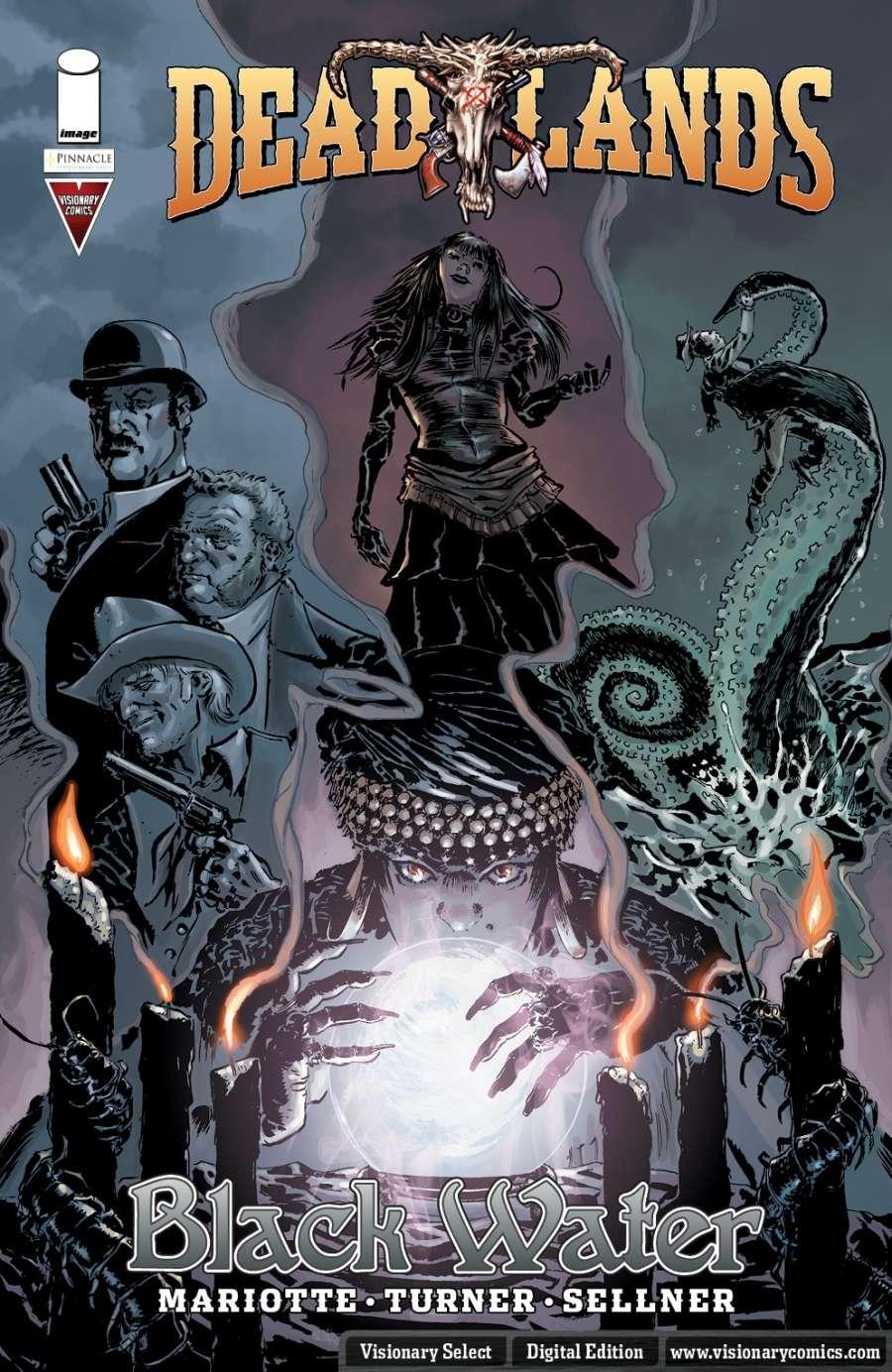 Flash Fire Mini Reviews: Deadlands Comics