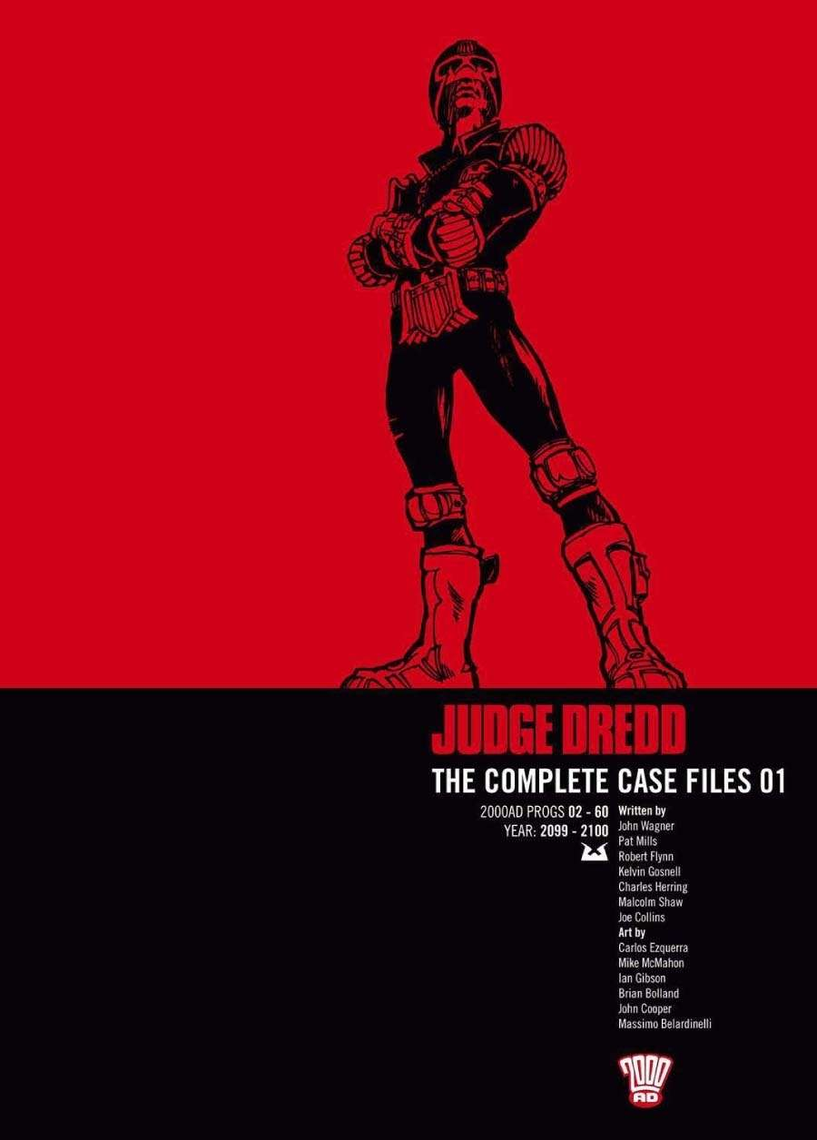 Judge Dredd: The Complete Case Files #1