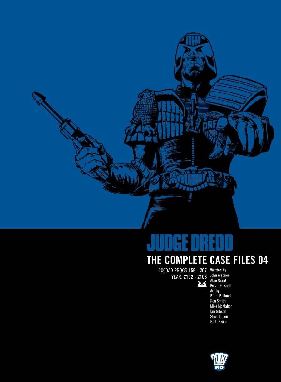 Judge Dredd: The Complete Case Files #4