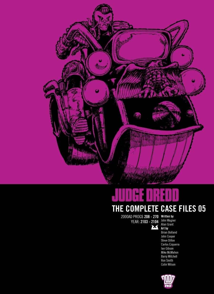 Judge Dredd: The Complete Case Files #5