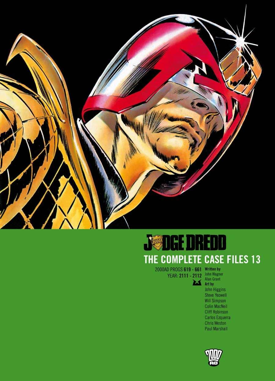 Judge Dredd: The Complete Case Files #13